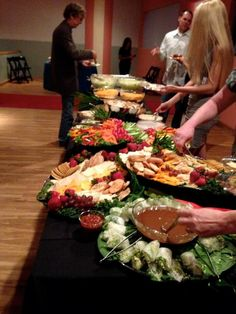 360 Catering Buffet Display