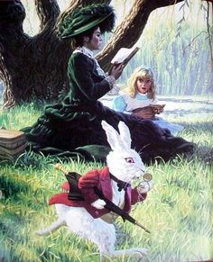 The Rabbit by Greg Hildebrandt