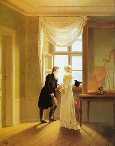 1815 Georg Friedrich Kersting - Couple at the Window