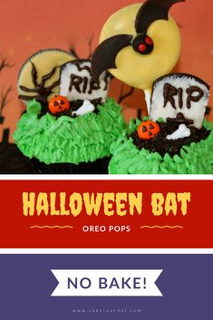 Learn how to make these easy NO BAKE cookie pops for Halloween! These are great for a Halloween party or giving out to kids for trick or treating. Halloween Treats For Kids, Spooky Treats, Fall Treats, Halloween Party, Oreo Cake, Oreo Cookies, Salted Caramel Fudge, Salted Caramels, Amigurumi