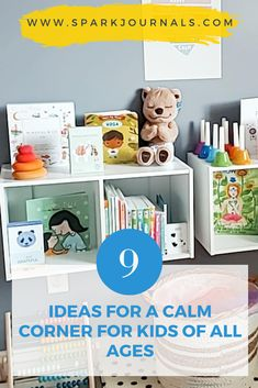 how to introduce mindfulness to kids by creating a calm corner in your home .  tis for babies, toddlers, preschoolers and school age kids. Mindfulness Books, Mindfulness For Kids, Mindfulness Activities, Activities For Kids, Emotional Resilience, Emotional Regulation, All Kids, Yoga For Kids, Affirmation Cards