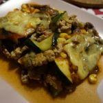 Cukinia a la lazania Gouda, Spaghetti, Beef, Lasagna, Meat, Noodle, Steak
