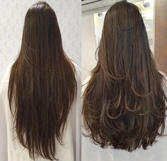 Most Popular Ideas For Long Straight Hair Styles Hairdos Haircuts For Long Hair Straight, Hairdo For Long Hair, Long Layered Haircuts, Long Wavy Hair, Long Hair Cuts, Layers For Long Hair, Face Shape Hairstyles, Pretty Hairstyles, Hair Looks