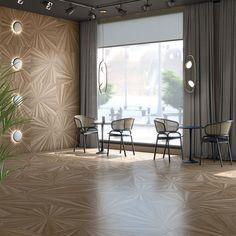Porcelain tiles range Komi in size, is a porcelain tile with timbers like finish. Living Room Design Modern, Flooring, Tile Floor, Stylish Kitchen, Porcelain Flooring, Light And Space, White Tiles, Living Room Design Colour, Room Design