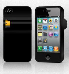 Spraytect is an iphone case that has an interface in the back for installing an optional pepper spray cartridge.