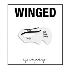 Winged Eyeliner Makeup Stencil
