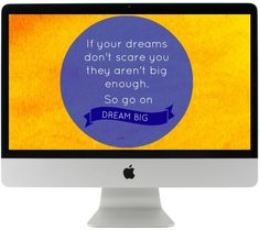 Are you in need for some inspiration and motivation? Get this gorgeous FREE reminder that you should keep dreaming BIG! Keep Dreaming, Free Desktop Wallpaper, Typing Games, Online Games, Dream Big, Diy Art, Helpful Hints, Have Fun, Relax