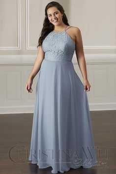 plus size bridesmaid