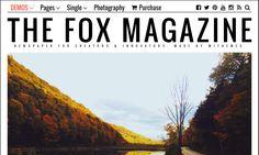 The Fox - Contemporary Magazine Theme