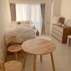Room Design Bedroom, Small Room Bedroom, Room Ideas Bedroom, Home Decor Bedroom, Japanese Bedroom Decor, Diy Bedroom, Dorm Room, Small House Interior Design, Small Room Design