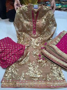Custom made availaible at Royal Threads Boutique. To order whatsapp at Bridal Mehndi Dresses, Pakistani Formal Dresses, Pakistani Wedding Outfits, Pakistani Bridal Wear, Pakistani Wedding Dresses, Indian Dresses, Indian Outfits, Stylish Dresses, Nice Dresses