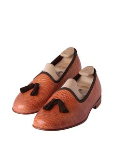 Madison Tassel Chestnut Mock Croc - £315.00