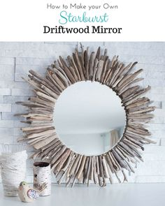 DIY Wood Frame For Mirror - DIY Projects