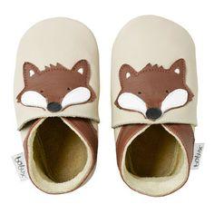 Bobux Soft Soles Beige Fox - Baby Shoes - Cotton Babies Cloth Diaper Store  #CottonBabies