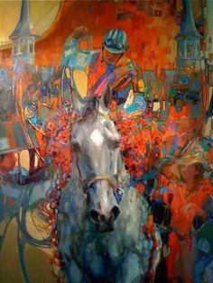 137th Kentucky Derby Artwork