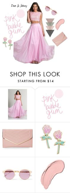 """Dave & Johnny: bubble gum pink"" by daveandjohnny212 on Polyvore featuring Dave and Johnny, Sasha, Big Bud Press, Sheriff&Cherry and NYX"