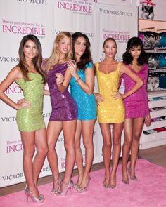 Victorias Secret models launch Incredible bra
