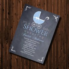 Baby Shower by GooseCornerGreetings on Etsy, $12.00
