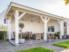 Backyard Pavilion, Backyard Gazebo, Pergola Patio, Backyard Landscaping, Patio Awnings, Pool House Designs, Backyard Patio Designs, Patio Ideas, Covered Patio Design