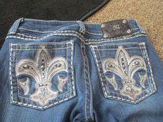 Miss Me Jeans Size 28/33 JP50734L Boot Dark Wash #MissMe #BootCut