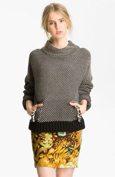 Tracy Reese Two Tone Sweater available at #Nordstrom