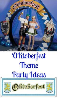 Use these Oktoberfest Theme Party Ideas to host your own Oktoberfest!