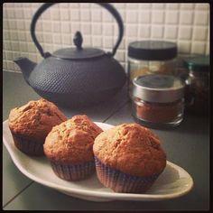 A casa di Cindy: Muffin alle mele e fiocchi d'avena