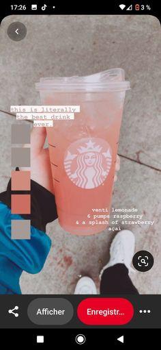 Starbucks Specialty Drinks, Bebidas Do Starbucks, Healthy Starbucks Drinks, Yummy Drinks, Starbucks Secret Menu Drinks, Starbucks Diys, Non Coffee Starbucks Drinks, Coffee Drinks, How To Order Starbucks