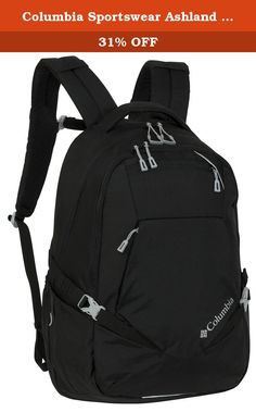 Columbia Sportswear Ashland Daypack (Black). Were constantly testing our products in the worst conditions all around the world to make our products perform even better. Explore how we test, and share your toughest moments of testing here. This Clackamas Pack comes with an organizer compartment with soft-lined and zippered mesh pockets, and a roomy main compartment with padded laptop sleeve. It's hydration reservoir compatible, and boasts a.