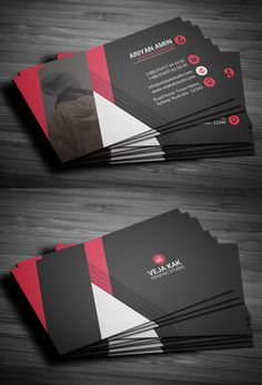 Professional Business Card Template #businesscards #psdtemplates #visitingcard #businesscardtemplate