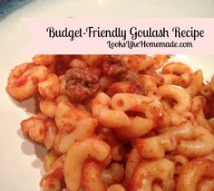 Easy, Inexpensive and Incredibly tasty, this goulash recipe