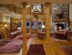 Natural Classic Living Room Country Style With Wooden Interior Ideas Beautiful country living room designs http://seekayem.com