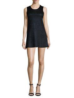 Ala?a Embroidered Mini Dress