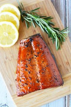 Growing up in the Northwest, Salmon has always been a big part of my life. Some of my earliest memories are getting up while it was still dark to go salmon fishing with my family. We lived on Whidbey Island and the Puget Sound was my front yard. Pellet Grill Recipes, Grilling Recipes, Fish Recipes, Seafood Recipes, Healthy Recipes, Smoked Salmon Brine, Smoked Salmon Recipes, Smoked Fish, Smoked Trout Brine Recipe