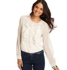 Ruffle Star Blouse - can you tell I am shopping for work clothes?