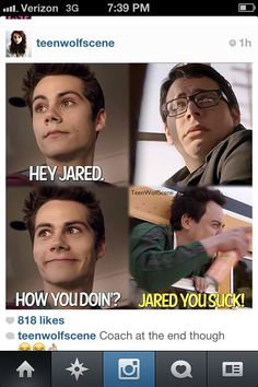 My favorite scene of stiles (Dylan o'brien) from teen wolf this season. Piccredit:teenwolfscene on Instagram.