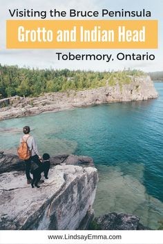 Exploring the Bruce Peninsula Grotto and Indian Head, Tobermory Ontario
