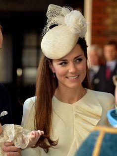 Kate Middleton: Shiny & Sleek Hair For Prince George's Christening