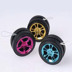 12 RACING RACE CAR WHEEL TIRE YO-YO Nascar Party Goody Loot Bag Toy Favor Supply   eBay