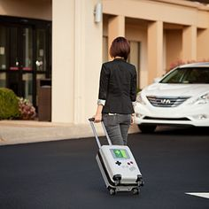ThinkGeek :: Travel Boy Carry On Luggage
