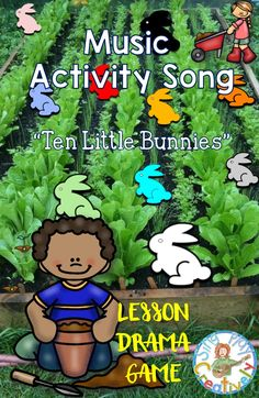 Bring on the drama and music with this fun interactive song. https://www.teacherspayteachers.com/Product/Ten-Little-Bunnies-MUSIC-ACTIVITY-SONG-RHYTHM-DRAMA-PUPPETS-P-MP3s-2449058