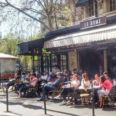 Sunny terrace Paris