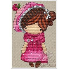 VK is the largest European social network with more than 100 million active users. Dmc Cross Stitch, Cross Stitch Baby, Cross Stitching, Cross Stitch Embroidery, Cross Stitch Designs, Cross Stitch Patterns, Stitch Doll, Needlepoint Patterns, Crochet Dolls