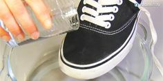 Wasserdichte Schuhe!