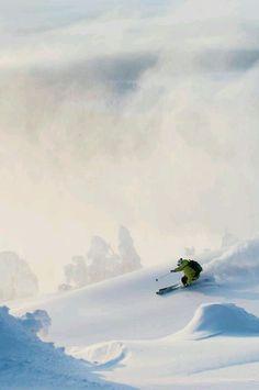 Skiing...#snow #skiing #ski #winter #freedome #freeride #freestyle #mountain #ekosport #snowboarding #inspiration #activity #outdoor