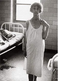 Richard Avedon. Mental Institution #21, East Louisiana State Mental Hospital, 1963