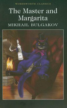 Mikhail Bulgakov - The Master and Margarita AMAZING piece of Russian literature Good Books, Books To Read, Wordsworth Classics, The Master And Margarita, Better Books, Modern Books, Purple Cat, 12th Book, Russian Art