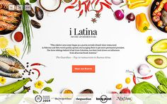 i Latina is a restaurant created by Colombian siblings. They offer a seven course tasting menu in which you will discover different flavors and ingredients of latinamerican cuisine.