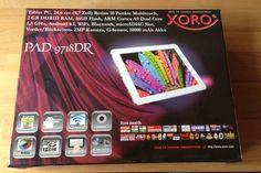 Xoro Android-Tablet mit Retina Display Arm Cortex, Retina Display, Android 4, Wifi, Blog, Dots, Blogging