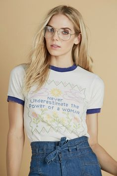 Feminist Ringer Tee - Stoned Immaculate Clothing